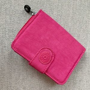 Kipling Hot Pink Nylon Wallet